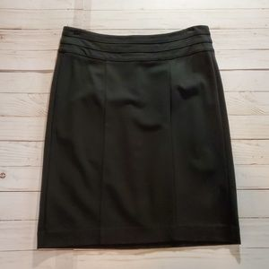 CAbi Black Pencil Skirt Size 6